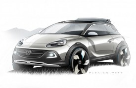 Vauxhall Adam ROCKS Concept Previewed Ahead of Geneva Debut