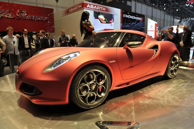 Geneva 2011: Alfa Romeo 4C Concept Is One Hot Compact Sports Car