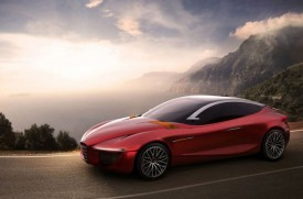 Alfa Romeo and IED Preview Gloria Concept for Geneva Motor Show