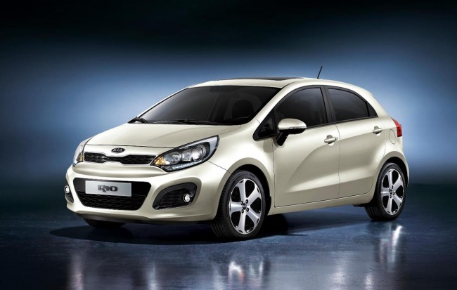 All new Kia Rio front