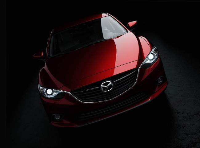 All-new Mazda6 saloon