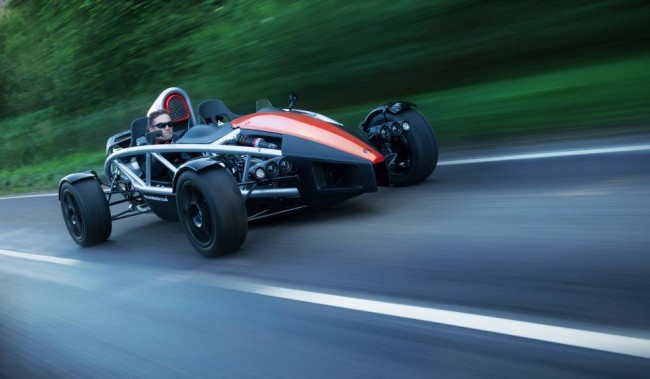 Ariel Atom 3.5 on the road