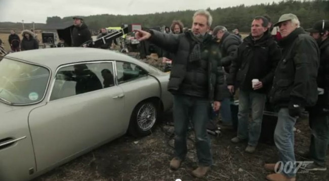 New James Bond Film Skyfall Features Iconic Aston Martin DB5 [VIDEO]
