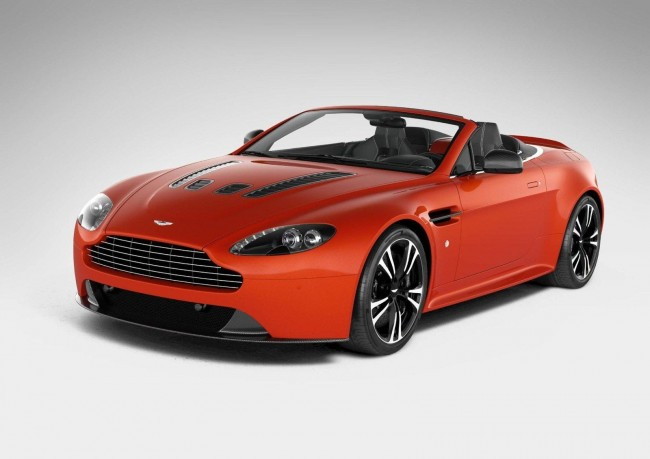 Aston Martin V12 Vantage Roadster – First Details & Photos