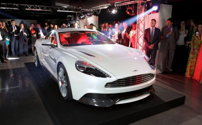 New Aston Martin Vanquish Makes Its London Debut