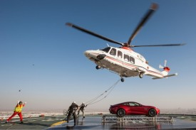 Aston Martin Celebrates its Centenary With a Spectacular Event at the Burj Al Arab Hotel [video]