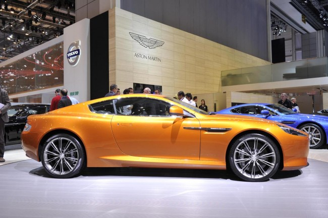 Aston Martin Virage live in Geneva