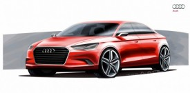 Audi A3 Saloon Concept Teased For Geneva Debut