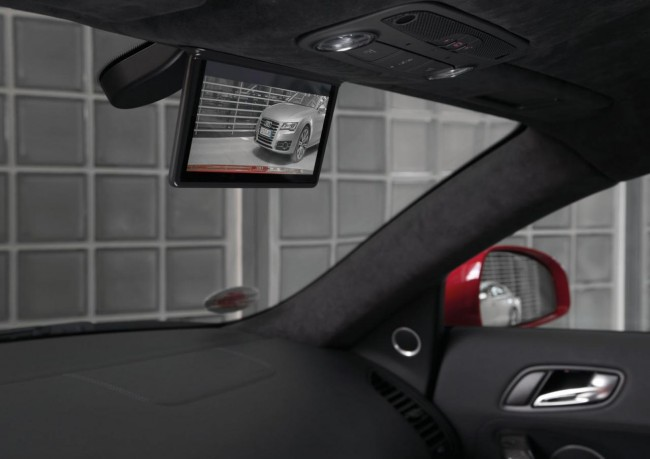 Audi R8 e-tron digital rear-view mirror