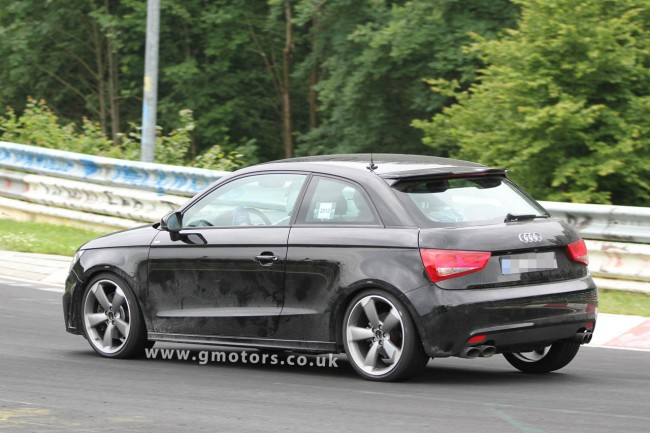 Audi S1 Prototype Spied Testing At The Nürburgring