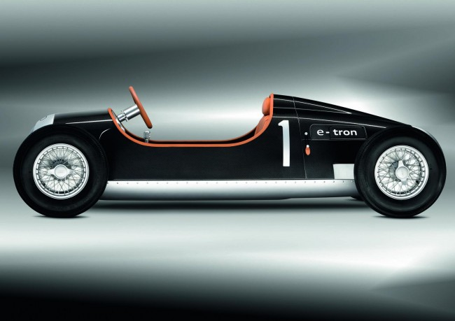 Auto Union Type C e-tron Study Is Something Our Kids Would Love
