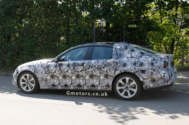 BMW 4 Series Gran Coupe Spy Shots