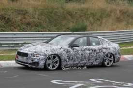 BMW 4 Series Gran Coupe Caught on the Nürburgring