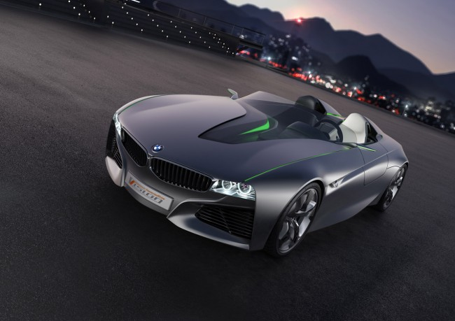 BMW Vision ConnectedDrive Roadster Concept Revealed Ahead Of Geneva Debut