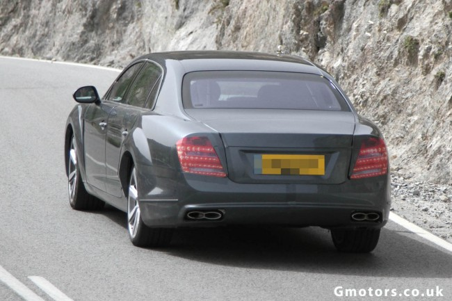 2014 Bentley Continental Flying Spur V8 Spied