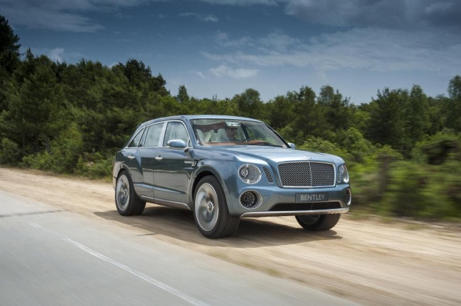 Bentley EXP 9 F SUV Concept [First Video Footage & New Images]