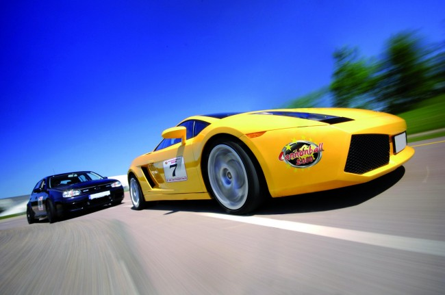 Get Ready For Cannonball 2000: 50 Supercars, Celebs And 2000 Miles