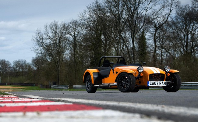 Caterham Unveils Race-Car Based Supersport