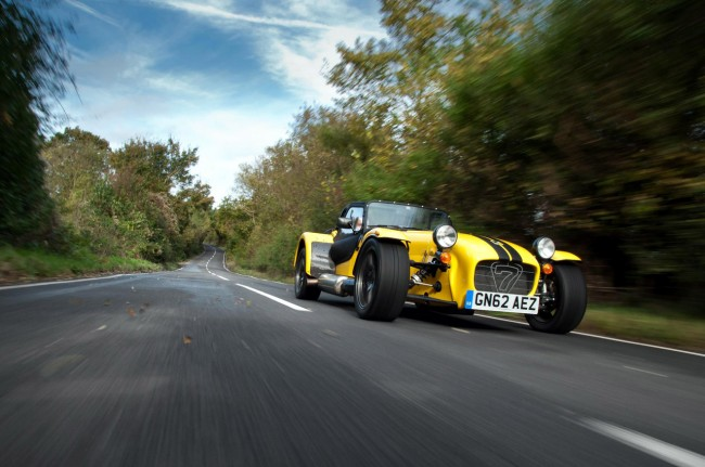 Caterham Supersport R front yellow