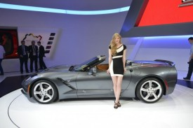 2014 Chevrolet Corvette Stingray Convertible Debuts in Geneva