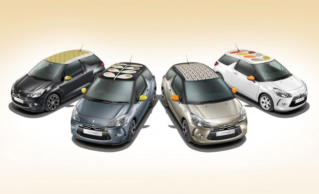 Citron DS3 by Orla Kiely Collection Priced From 16,000