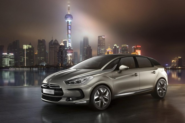 Citron Reveals DS5 In Shanghai