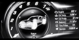 Chevrolet Corvette C7 Video Teaser Shows Digital Gauges