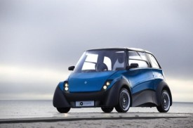ECOmove QBEAK Electric City Car Revealed [VIDEO]