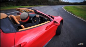 Watch Chris Harris Drive a Ferrari 458 Spider on the Track [video]