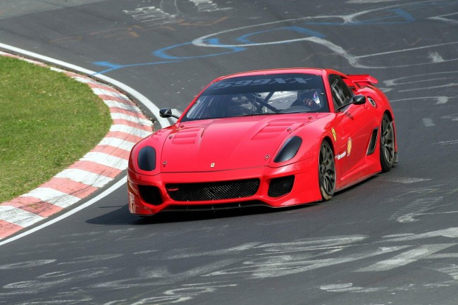 Ferrari To Auction 599XX Evo, Racing Suits, Helmets, Watches For Earthquake Victims