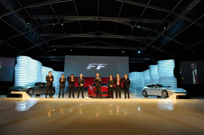 Ferrari FF Makes Its Public Debut In Maranello [VIDEOS]