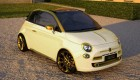 Fiat 500C La Dolce Vita Gold and Diamonds by Fenice Milano