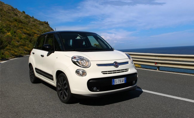 new fiat 500l priced from 14 900 for the 1 4 litre pop. Black Bedroom Furniture Sets. Home Design Ideas