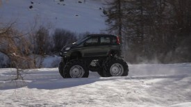 One-off Fiat Panda 44 Monster Truck [VIDEO]