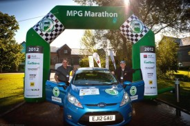 Ford Fiesta ECOnetic 1.6 TDCi Wins MPG Marathon