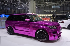 Hamann Brings a Pink Range Rover To Geneva – Would You Drive One?