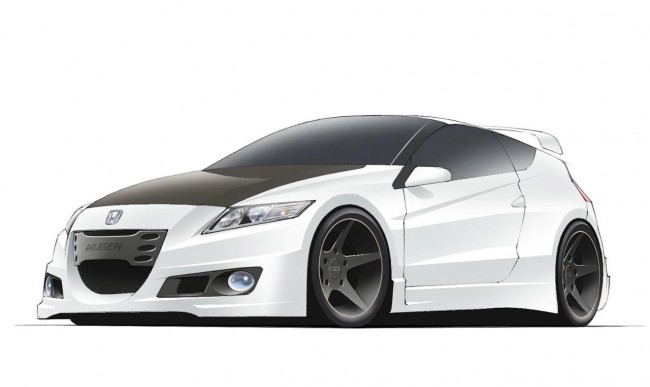 MUGEN Euro Working On A High-Performance Honda CR-Z