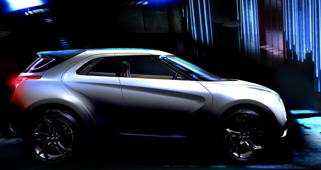 Hyundai Curb Concept Teased Ahead of Detroit Debut