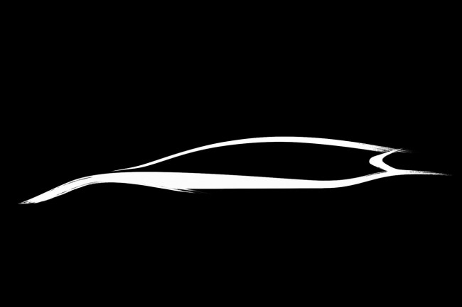 Infiniti concept car teaser for Geneva