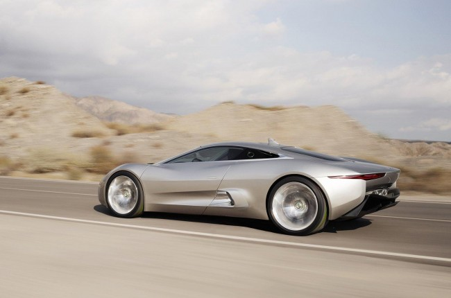 Video: Jay Leno drives the Jaguar C-X75 concept