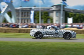 Jaguar F-Type Prototype Debuts At the Goodwood Festival Of Speed