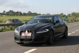 Jaguar XFR-S Spied With No Disguise