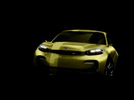 Kia CUB concept teased for Seoul Motor Show