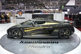 Koenigsegg Agera S Hundra Debuts in Geneva, Celebrates Company's 100th Car Built
