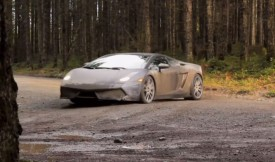Watch Lamborghini Gallardo driven like a WRC car
