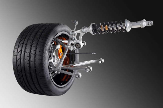 Lamborghini Murcielago successor suspension