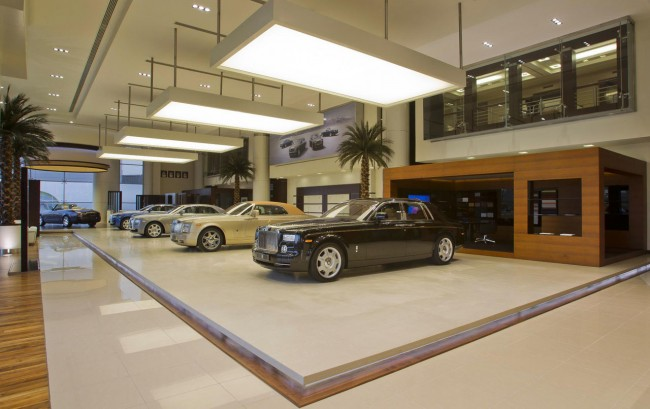 World's Largest Rolls-Royce Showroom Opens In Abu Dhabi
