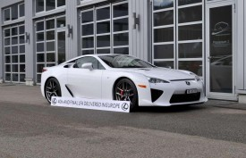 Last Lexus LFA delivered to a customer in Switzerland