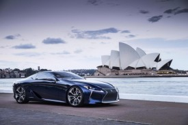 Lexus LF-LC Blue Concept Debuts Down Under
