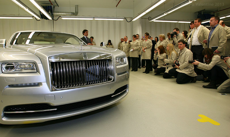 Rolls-Royce unveil the new Wraith